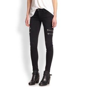"J brand ""dee"" skinny Moto jeans"